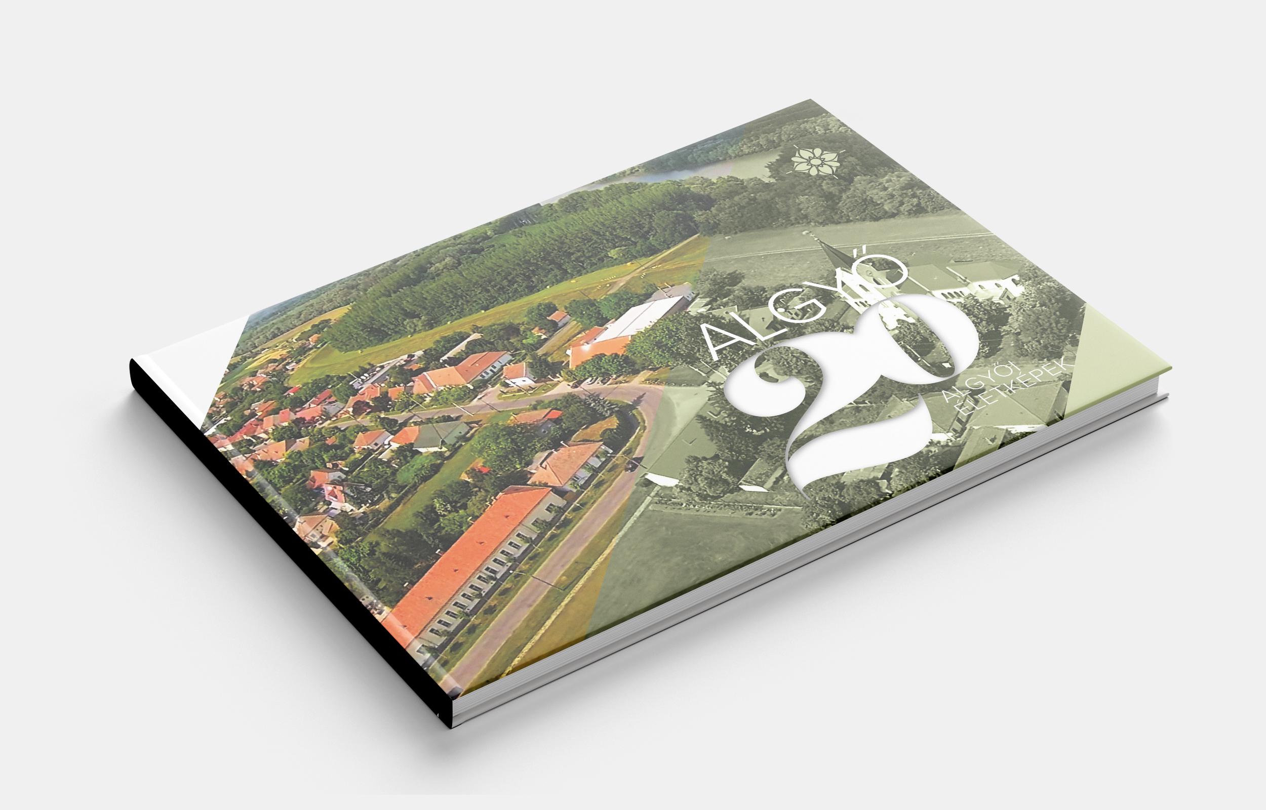 Algyő 20 könyvtervezés